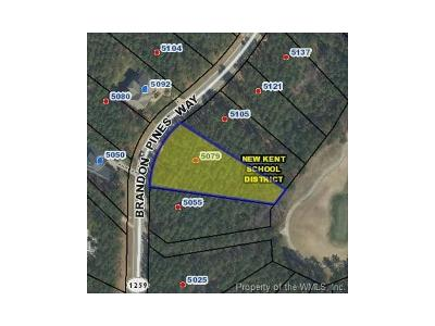 Charles City Co., Isle Of Wight County, James City Co., New Kent County, Newport News County, Suffolk County, Surry County, Williamsburg County, York County Residential Lots & Land For Sale: 5079 Brandon Pines Way