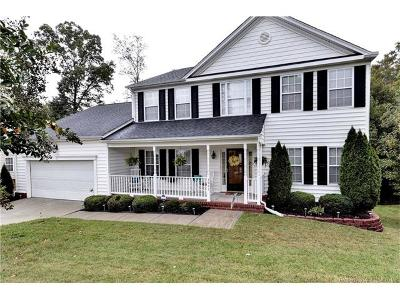 Williamsburg Single Family Home For Sale: 3947 Bournemouth Bend
