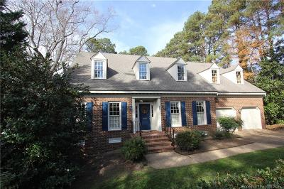 Williamsburg Single Family Home For Sale: 300 Indian Springs Road