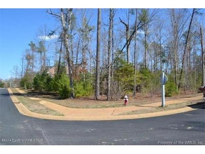 Norge, Toano, Williamsburg Residential Lots & Land For Sale: 101 Edenbridge