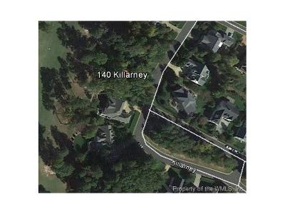 Norge, Toano, Williamsburg Residential Lots & Land For Sale: 140 Killarney