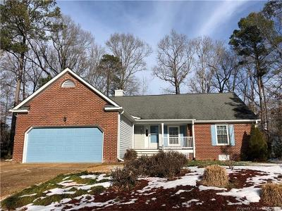 Single Family Home For Sale: 3404 Southport Trail