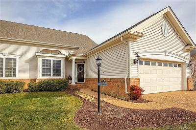 Colonial Heritage, The Settlement At Powhatan Creek, Villas At Five Forks Single Family Home For Sale: 6555 Wiltshire Road
