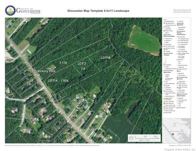 Gloucester Residential Lots & Land For Sale: Lot 2 Hickory Fork Road