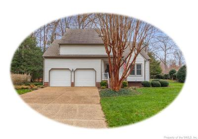 Williamsburg Single Family Home For Sale: 2800 Mockingbird Drive
