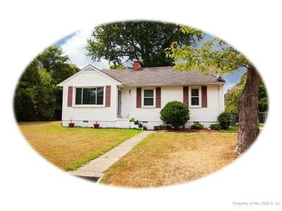 Williamsburg, Toano, Providence Forge Single Family Home For Sale: 507 West Maynor Drive