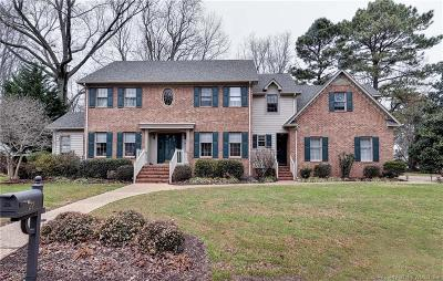 Newport News Single Family Home For Sale: 27 Island View Drive