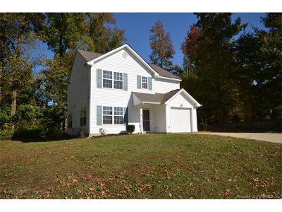 Williamsburg VA Single Family Home For Sale: $223,900