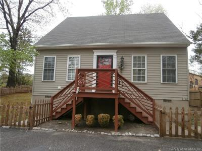 Single Family Home For Sale: 6195 Richmond Road