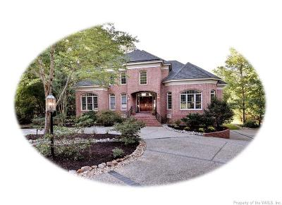 Williamsburg Single Family Home For Sale: 104 Seven Oaks