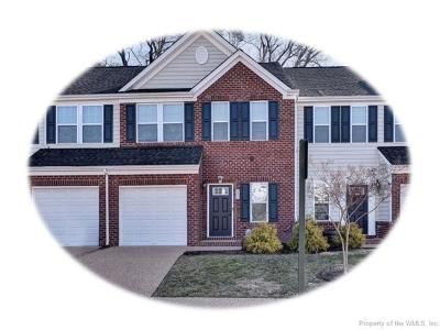 Hampton County, Isle Of Wight County, James City County, New Kent County, Suffolk County, Surry County, Williamsburg County, York County Condo/Townhouse For Sale: 237 Lewis Burwell Place