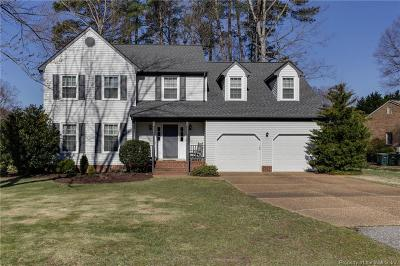 Yorktown Single Family Home Sold: 107 Patuxent Turn