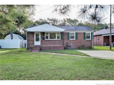 Hampton Single Family Home For Sale: 1726 Old Buckroe Road