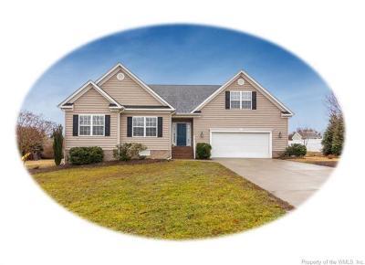 Wellington Single Family Home For Sale: 4012 Dunbarton Circle