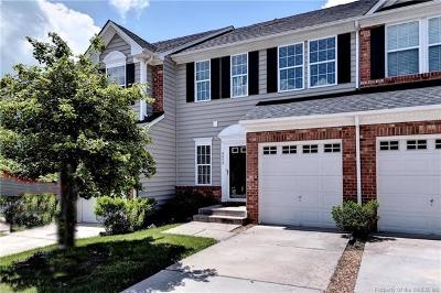 Williamsburg VA Condo/Townhouse For Sale: $246,000