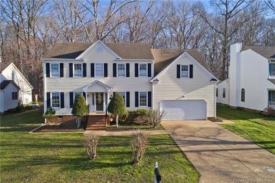 Yorktown Single Family Home For Sale: 213 Pasture Lane