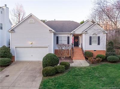 Williamsburg Single Family Home For Sale: 6224 Weathersfield Way