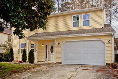 Newport News Single Family Home For Sale: 1587 Winthrope Drive