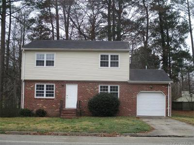 Williamsburg VA Rental For Rent: $1,400