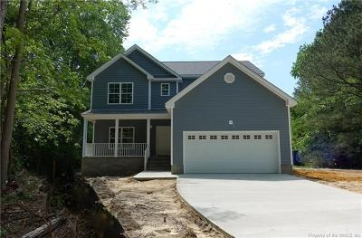 James City County, Williamsburg County, York County Single Family Home For Sale: 4299 John Tyler Highway