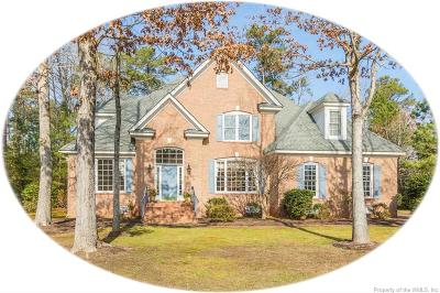 Williamsburg VA Single Family Home For Sale: $525,000