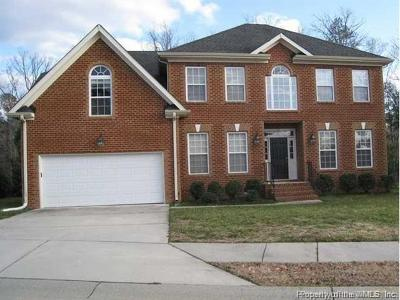 James City County, Williamsburg County, York County Single Family Home For Sale: 268 Patricks Crossing