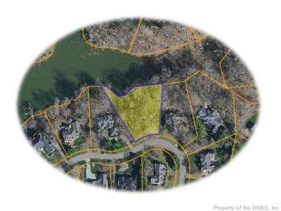 Governors Land, Kingsmill Residential Lots & Land For Sale: 220 Jeffersons Hundred