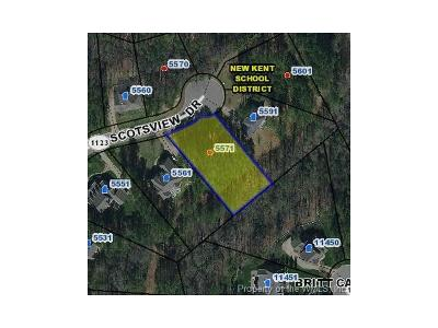 Charles City Co., Isle Of Wight County, James City Co., New Kent County, Newport News County, Suffolk County, Surry County, Williamsburg County, York County Residential Lots & Land For Sale: 5571 Scotsview