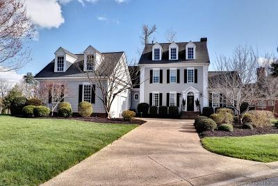 Williamsburg VA Single Family Home For Sale: $725,000