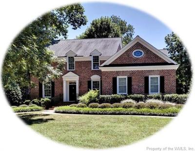 Williamsburg VA Single Family Home For Sale: $550,000