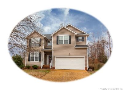 Williamsburg VA Single Family Home For Sale: $350,000