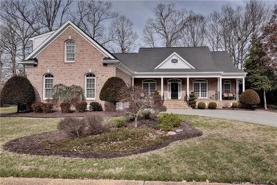 Williamsburg VA Single Family Home For Sale: $579,900