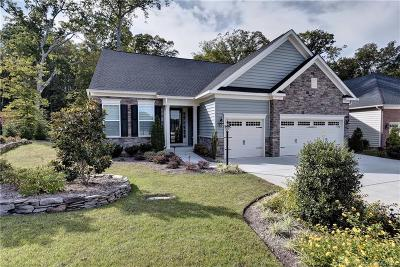 Colonial Heritage Single Family Home For Sale: 6201 Tucker Landing
