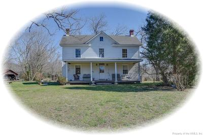 Gloucester Single Family Home For Sale: 7981 Indian Road
