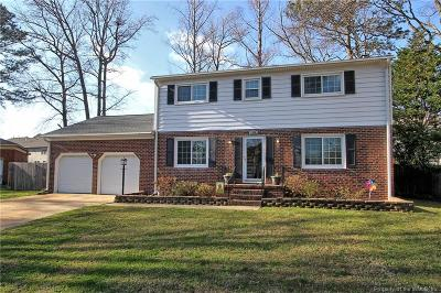 Hampton Single Family Home For Sale: 160 Wilderness Road