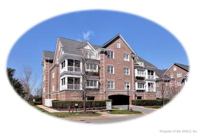 Hampton County, Isle Of Wight County, James City County, New Kent County, Suffolk County, Surry County, Williamsburg County, York County Condo/Townhouse For Sale: 1201 Eaglescliffe