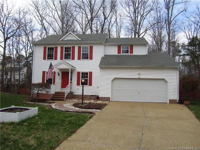 Williamsburg Single Family Home For Sale: 3136 Maplewood Place