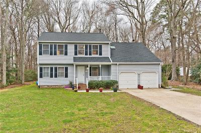Yorktown Single Family Home For Sale: 103 Stone Lake Court