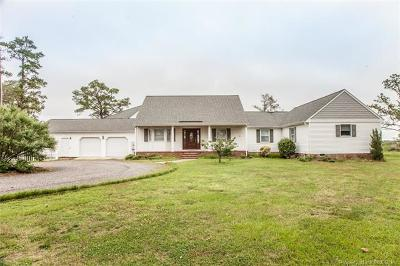 Single Family Home For Sale: 9093 Stump Point Road