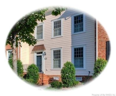 Hampton County, Isle Of Wight County, James City County, New Kent County, Suffolk County, Surry County, Williamsburg County, York County Condo/Townhouse For Sale: 4337 Casey Boulevard