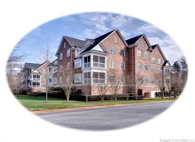 Hampton County, Isle Of Wight County, James City County, New Kent County, Suffolk County, Surry County, Williamsburg County, York County Condo/Townhouse For Sale: 2303 Eaglescliffe