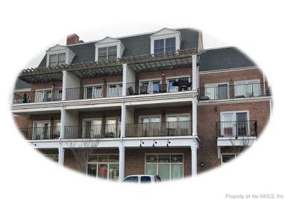Williamsburg Condo/Townhouse For Sale: 5109 Center Street #2B