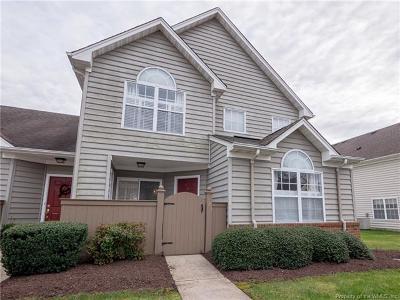 Williamsburg VA Condo/Townhouse For Sale: $168,000