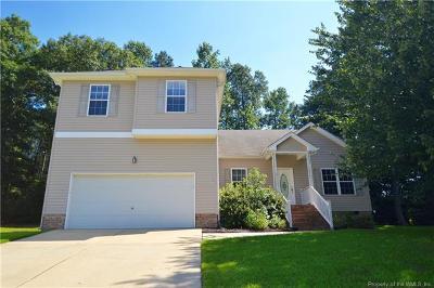 Williamsburg VA Single Family Home For Sale: $315,000
