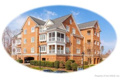 Hampton County, Isle Of Wight County, James City County, New Kent County, Suffolk County, Surry County, Williamsburg County, York County Condo/Townhouse For Sale: 1202 Eaglescliffe