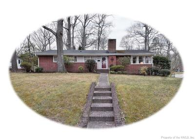 Williamsburg Single Family Home For Sale: 223 Tyler Brooks Drive