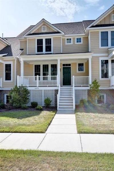 Hampton County, Isle Of Wight County, James City County, New Kent County, Suffolk County, Surry County, Williamsburg County, York County Condo/Townhouse For Sale: 4329 Audrey Lane #_