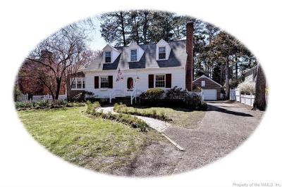 College Terrace Single Family Home For Sale: 706 Richmond Road