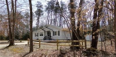 Single Family Home For Sale: 220 Old Taylor Road