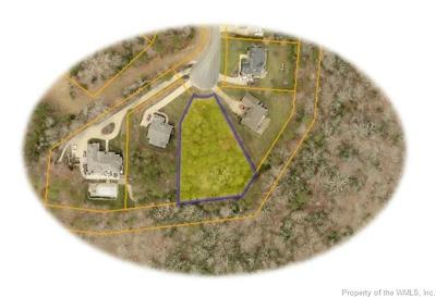 Williamsburg VA Residential Lots & Land For Sale: $39,750